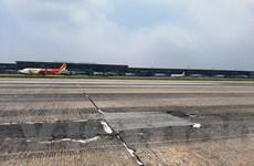 Sẽ sửa xong hư hỏng đường băng sân bay Nội Bài vào cuối năm 2020