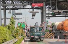 Bắt đầu thu phí không dừng trên cao tốc Pháp Vân-Ninh Bình