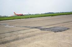 Khởi công dự án sửa chữa đường băng sân bay Nội Bài, Tân Sơn Nhất