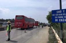 Các phương tiện đi lại ra sao khi tiến hành sửa chữa cầu Thăng Long?