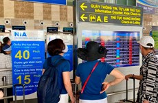 Sân bay Nội Bài dừng loa phát thanh thông tin chuyến bay từ 30/7