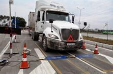 Xe chở quá tải lưu thông trên Quốc lộ 5 sẽ bị xử phạt ''nguội''