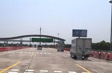 Cao tốc Hà Nội-Hải Phòng thu phí tự động không dừng từ ngày 11/8