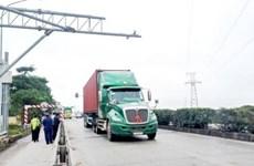Xe quá tải trên Quốc lộ 5 giảm rõ rệt nhờ hệ thống cân tự động