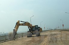 Sửa chữa hư hỏng mặt cầu Thăng Long: Sẽ hoàn thành trước ngày 31/12