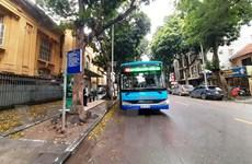 Hà Nội: Rà soát, bố trí thêm hàng nghìn điểm dừng xe buýt