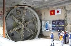 Khi nào máy đào hầm tuyến đường sắt đô thị Nhổn-ga Hà Nội về nước?