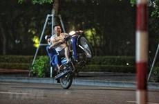 Xử lý nghiêm tình trạng thanh thiếu niên đua xe máy trái phép