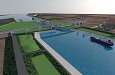 Động thổ xây cụm kênh nối Đáy-Ninh Cơ có vốn đầu tư hơn 107 triệu USD