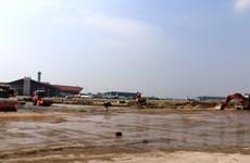 Cận cảnh thi công nước rút 3.000m đường băng sân bay Nội Bài