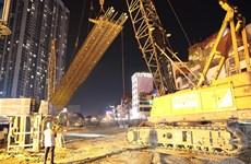 Ga ngầm metro Nhổn-ga Hà Nội được đào bằng công nghệ tốt nhất thế giới