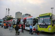 Hà Nội tăng cường 2.200 lượt xe trong dịp cao điểm nghỉ Tết năm 2021
