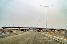 Sắp thông xe nút giao Vành đai 3 với cao tốc Hà Nội-Hải Phòng