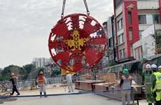 Thời gian đào hầm đoạn metro Nhổn-ga Hà Nội vào khoảng 400 ngày