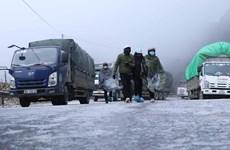 Tăng cường đảm bảo an toàn giao thông nếu đường xuất hiện băng, tuyết