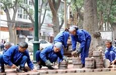 Hà Nội tạm dừng thi công đào đường dịp Đại hội Đảng XIII và Tết