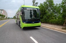 Hà Nội sắp vận hành 10 tuyến xe buýt điện thân thiện môi trường