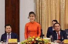 Nữ tỷ phú Nguyễn Thị Phương Thảo: 'Hãy tin tưởng vào kinh tế tư nhân'