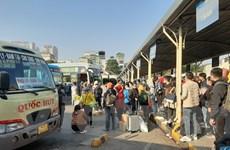 Dự kiến lượng khách đổ về bến xe ở Hà Nội tăng 250% trong dịp nghỉ lễ