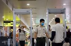 Lắp đặt bổ sung thêm các máy soi chiếu an ninh tại sân bay Nội Bài