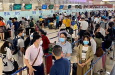Các sân bay đều tăng sản lượng khách từ 30-175% dịp nghỉ lễ 30/4-1/5