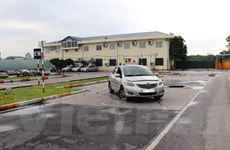 Tạm dừng tổ chức thi sát hạch lái xe tại một số trung tâm ở Hà Nội