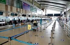 Sân bay Nội Bài vắng như 'chùa Bà Đanh' trong đợt dịch COVID-19
