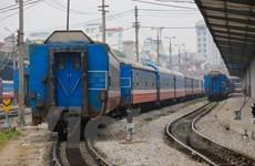 Ngành đường sắt tạm dừng chạy tàu khách chặng Hà Nội-Hải Phòng