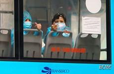 Hà Nội: Bố trí xe buýt đưa công dân F1 về các khu cách ly tập trung