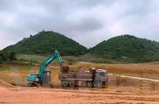 Sớm nâng công suất mỏ vật liệu để thi công cao tốc Nghi Sơn-Diễn Châu