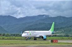 Bamboo Airways bay thử nghiệm tới Điện Biên bằng dòng phản lực mới