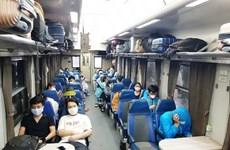 Hướng dẫn tổ chức vận tải đường sắt để chống dịch COVID-19