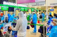 Bamboo Airways chở hơn 600 công dân Bắc Giang từ TP.HCM về quê