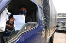 Đề xuất mở thêm 4 điểm test nhanh COVID-19 cho lái xe chở hàng hóa