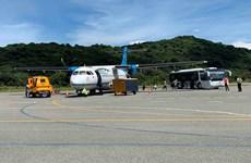 VASCO khai thác chuyến bay đầu tiên đến Côn Đảo sau giãn cách