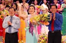 Ái Vi đăng quang Nữ sinh viên Việt Nam duyên dáng