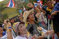 Hàng chục nghìn người biểu tình tại thủ đô Bangkok