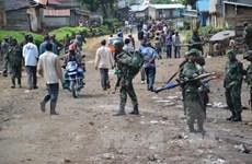 Lực lượng an ninh Congo hoàn toàn kiểm soát thủ đô