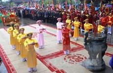 Hội Đền Mẫu Âu Cơ mở màn cho các lễ hội nơi đất Tổ