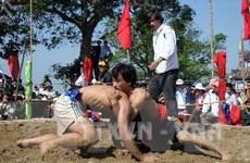 Độc đáo hội vật truyền thống làng Sình ở Thừa Thiên-Huế