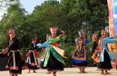 Độc đáo điệu múa Chuông của người Dao vùng đất Tổ