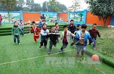 Hà Nội đạt chuẩn phổ cập giáo dục mầm non cho trẻ 5 tuổi