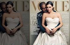 """Tranh cãi quanh việc """"Kim siêu vòng 3"""" lên bìa Vogue"""