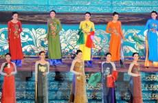 Khai mạc lễ hội áo dài: Thăng hoa cùng tà áo Việt Nam