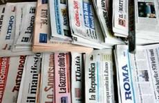 Italy: Ngành báo in đang rơi vào khủng hoảng nghiêm trọng