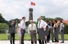 Bàn giao mặt bằng di tích khu D-Hoàng thành Thăng Long