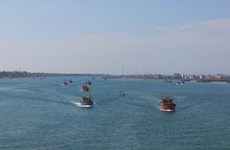 Ngư dân Quảng Bình nêu cao tinh thần chủ quyền biển đảo