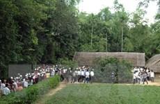 Nghệ An: Hơn 500 đoàn khách đến thăm Khu di tích Kim Liên