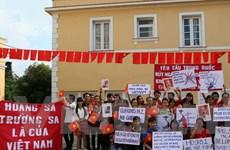 Cộng đồng Việt Nam tại Cuba phản đối hành động của Trung Quốc
