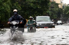 Hà Nội vẫn còn 12 điểm ngập khi lượng mưa trên 50mm